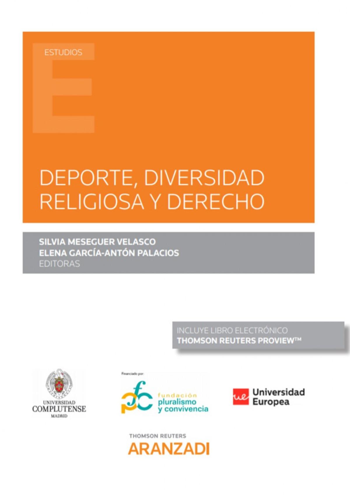 Deporte, diversidad religiosa y derecho (Papel + e-book)