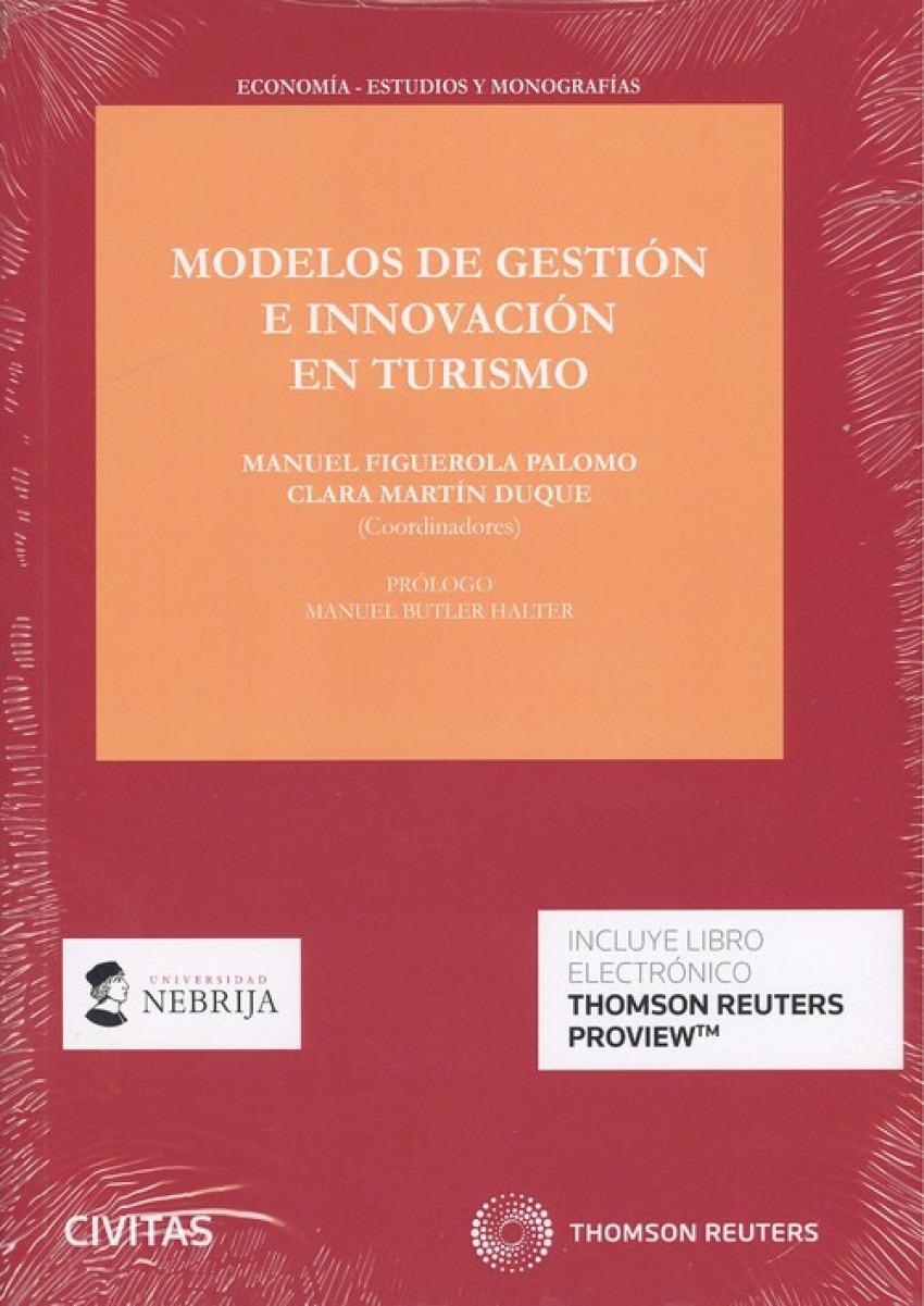MODELOS DE GESTIÓN EN INNOVACIÓN EN TURISMO