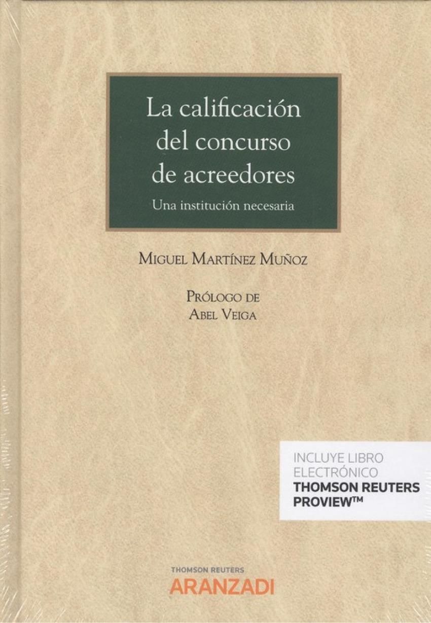 LA CALIFICACIÓN DEL CONCURSO DE ACREEDORES