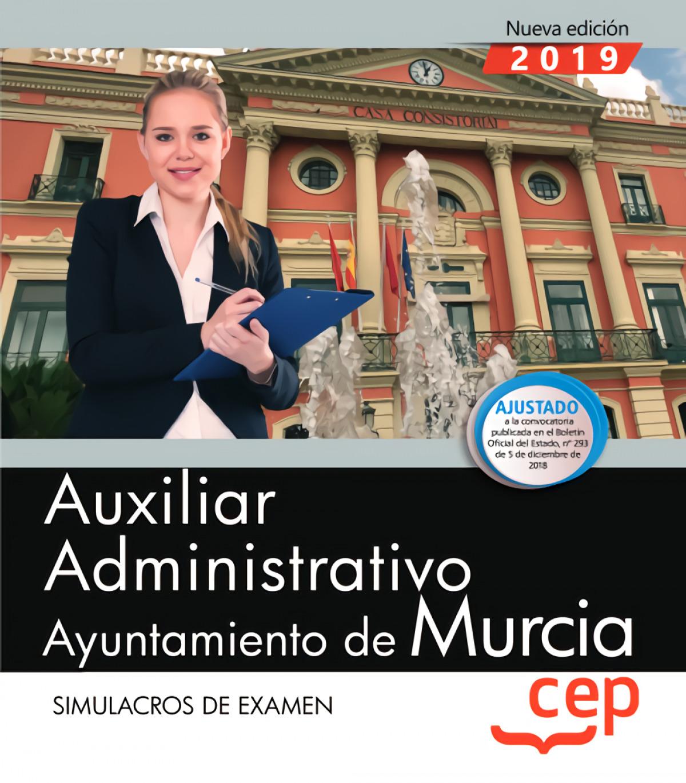 AUXILIAR ADMINISTRATIVO AYUNTAMIENTO DE MURCIA 2019