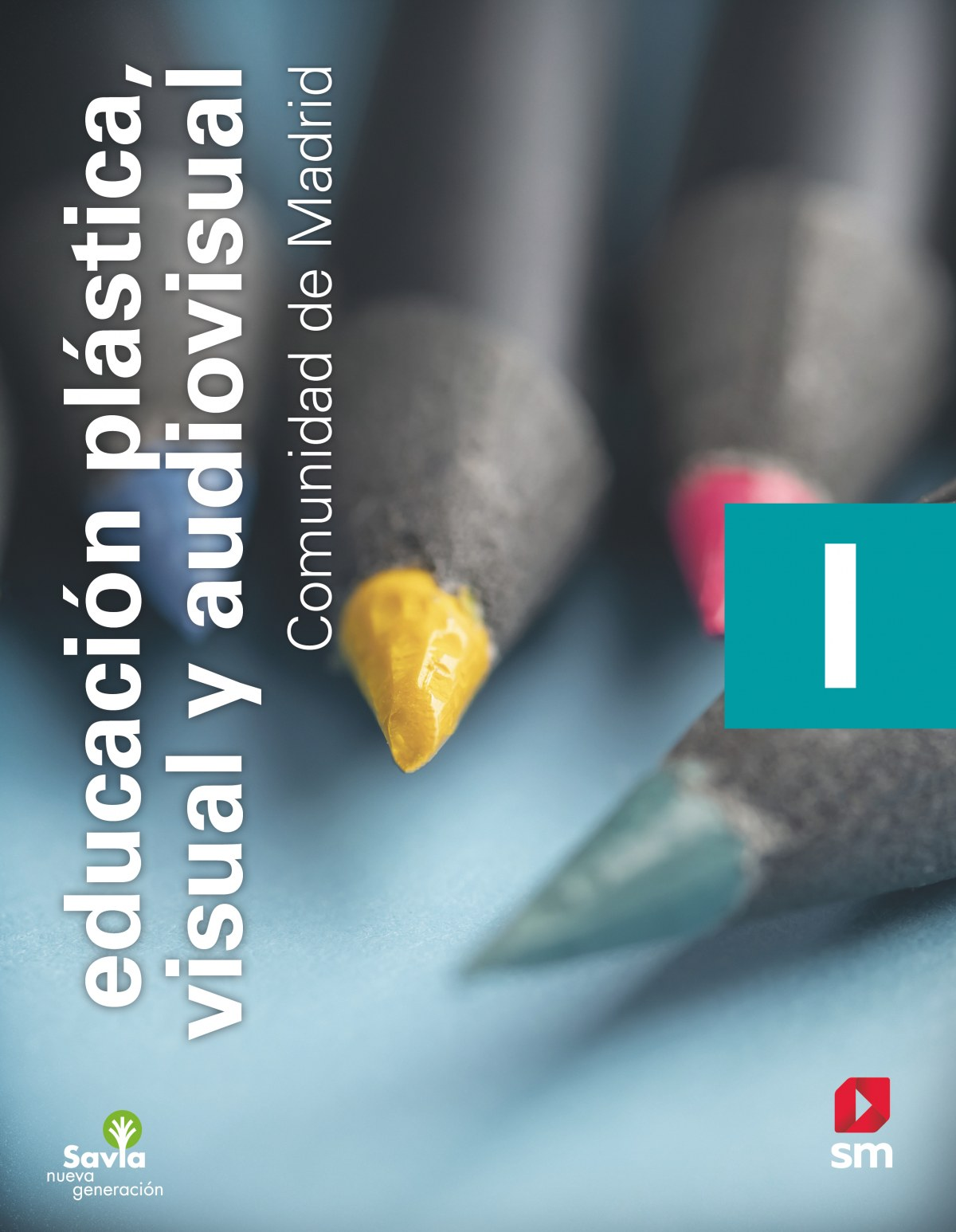 Educación plástica, visual y audiovisual I. ESO. Savia Nueva Generación. Madrid