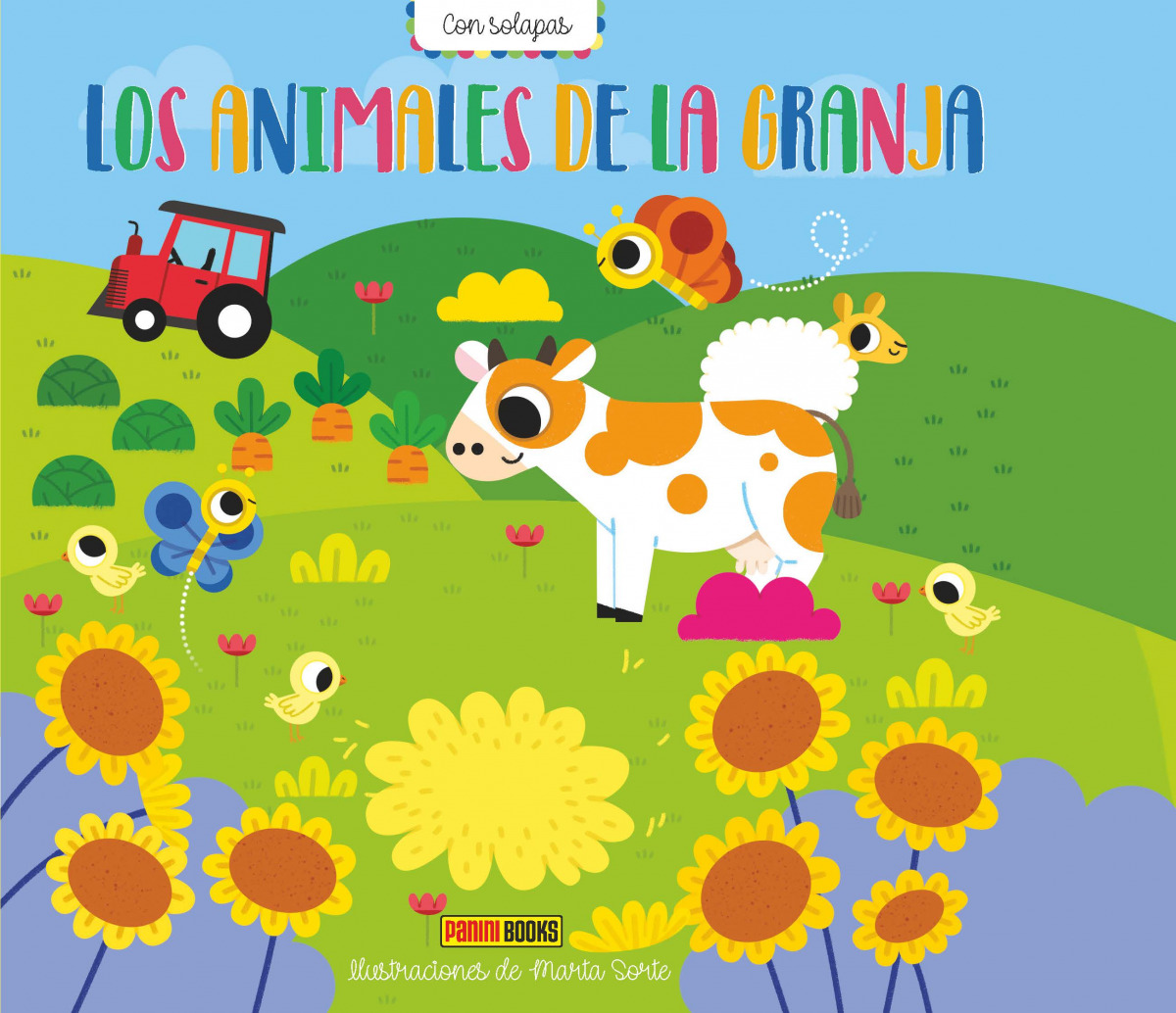 LIBRO SOLAPAS LOS ANIMALES DE LA GRANJA