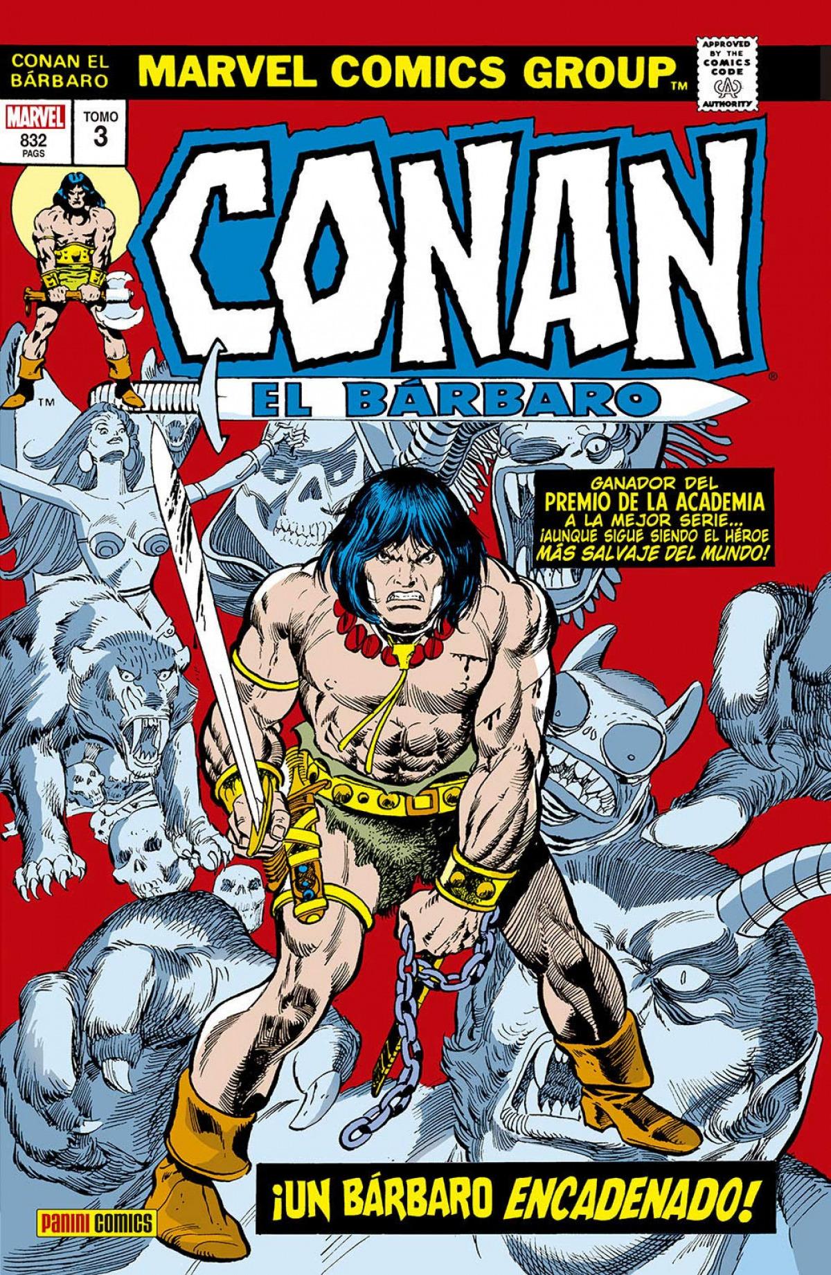 CONAN EL BÁRBARO: LA ETAPA MARVEL ORIGINAL 03