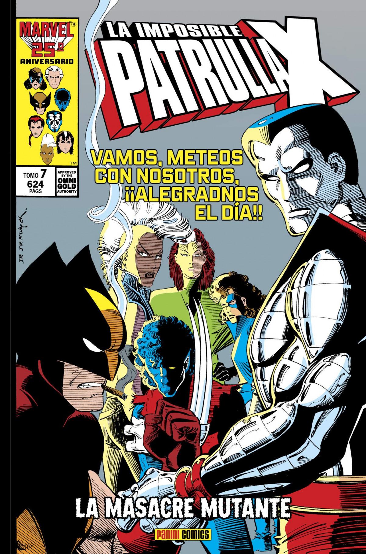 Marvel gold la imposible patrulla-x. la masacre mutante 7