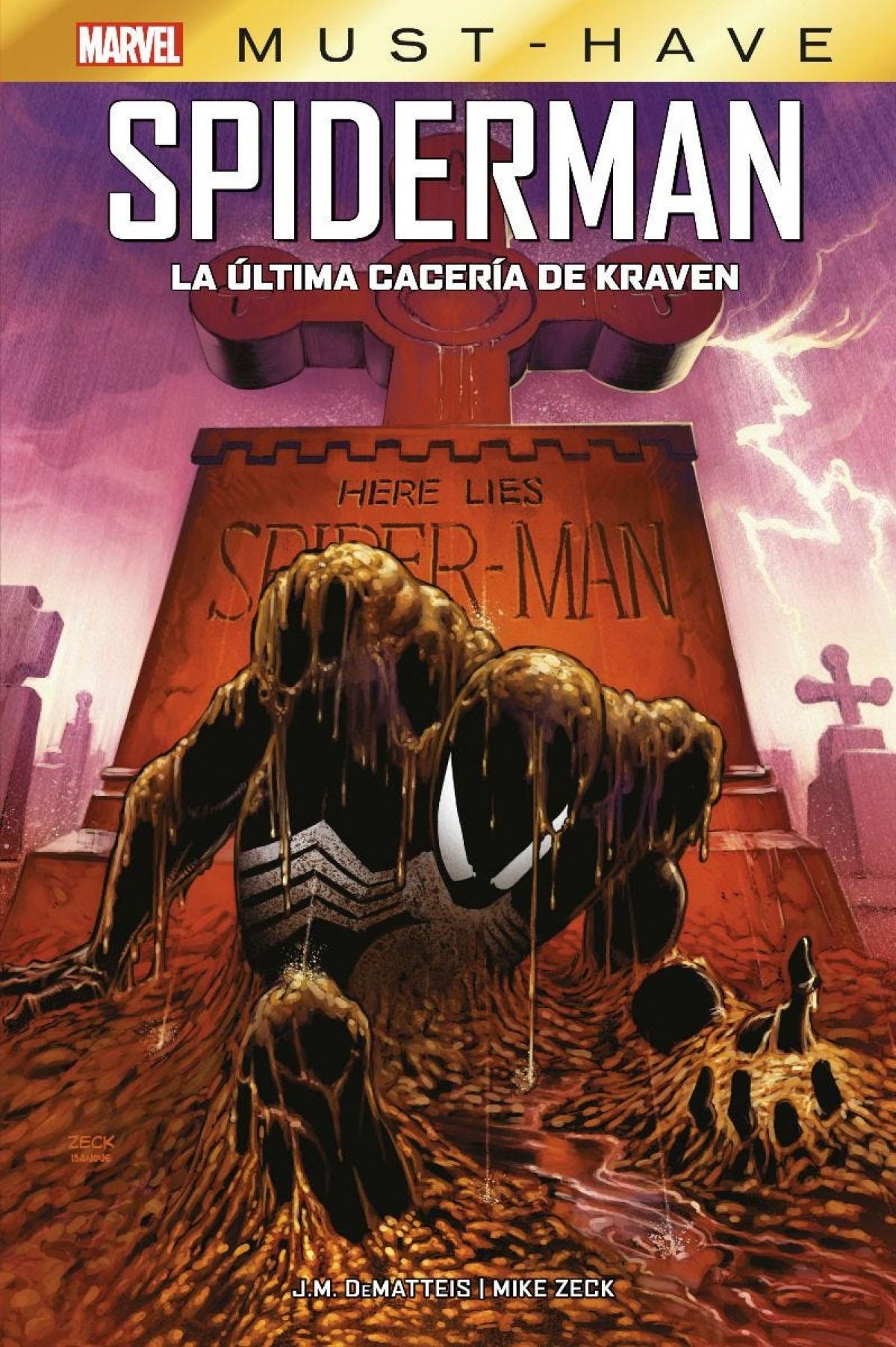 Marvel must have spiderman. la última cacería de kraven