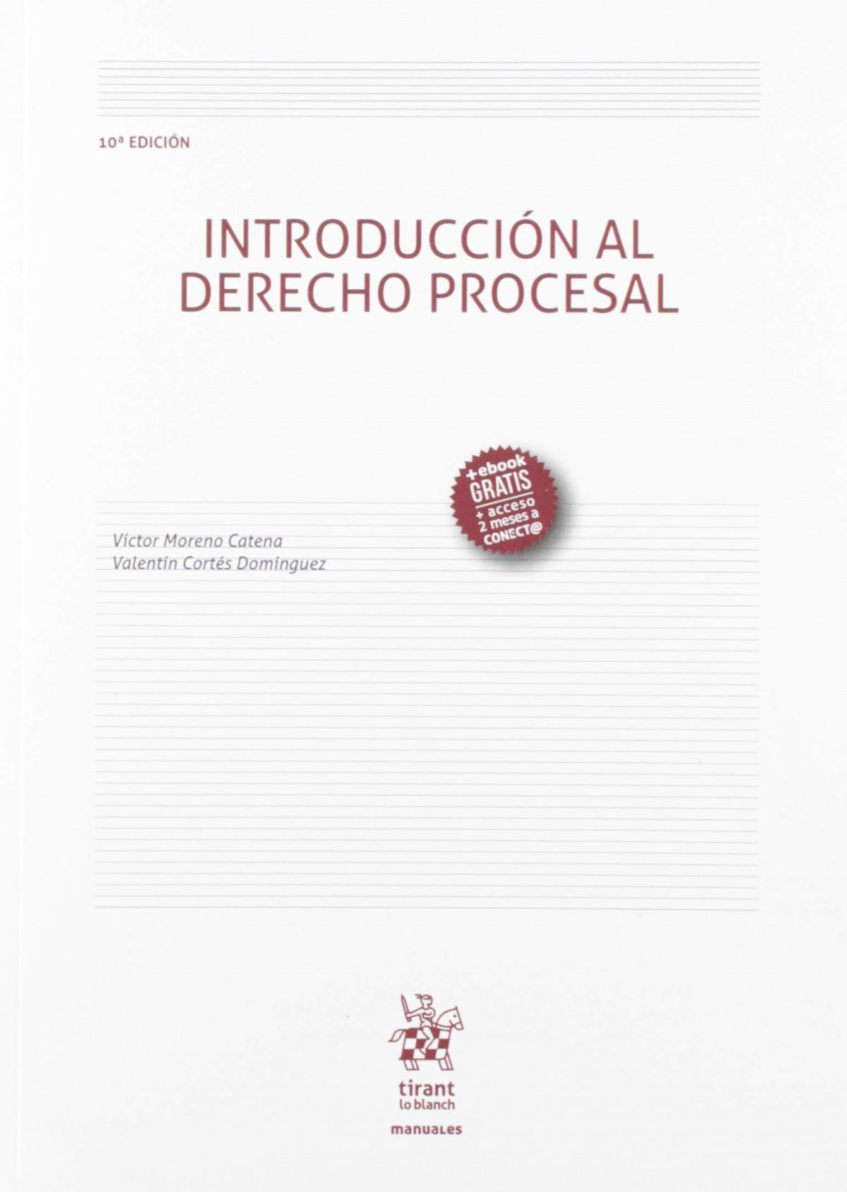 Introducción al derecho procesal, 10 edición