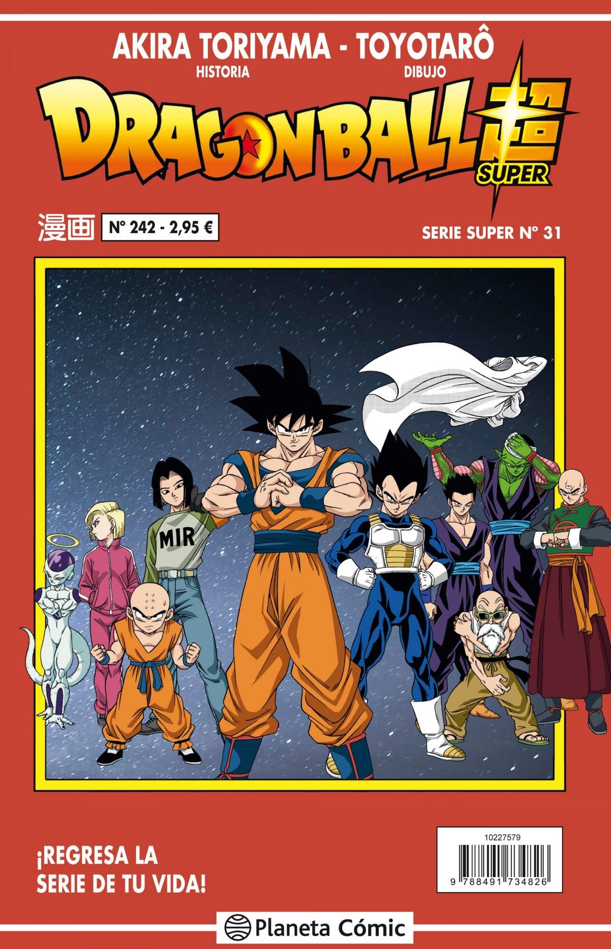 Dragon Ball Serie Roja nº 242