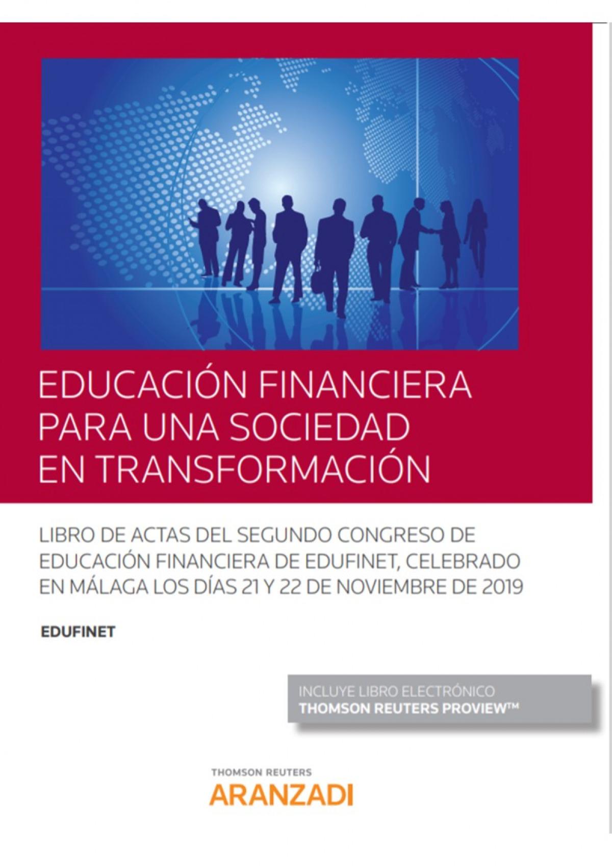 Educación financiera para una sociedad en transformación (Papel + e-book)