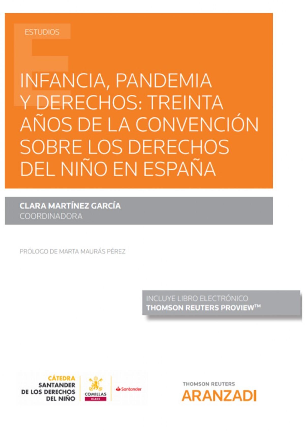 Infancia, pandemia y derechos: treinta años de la convención sobre los derechos del niño en España (Papel + e-book)