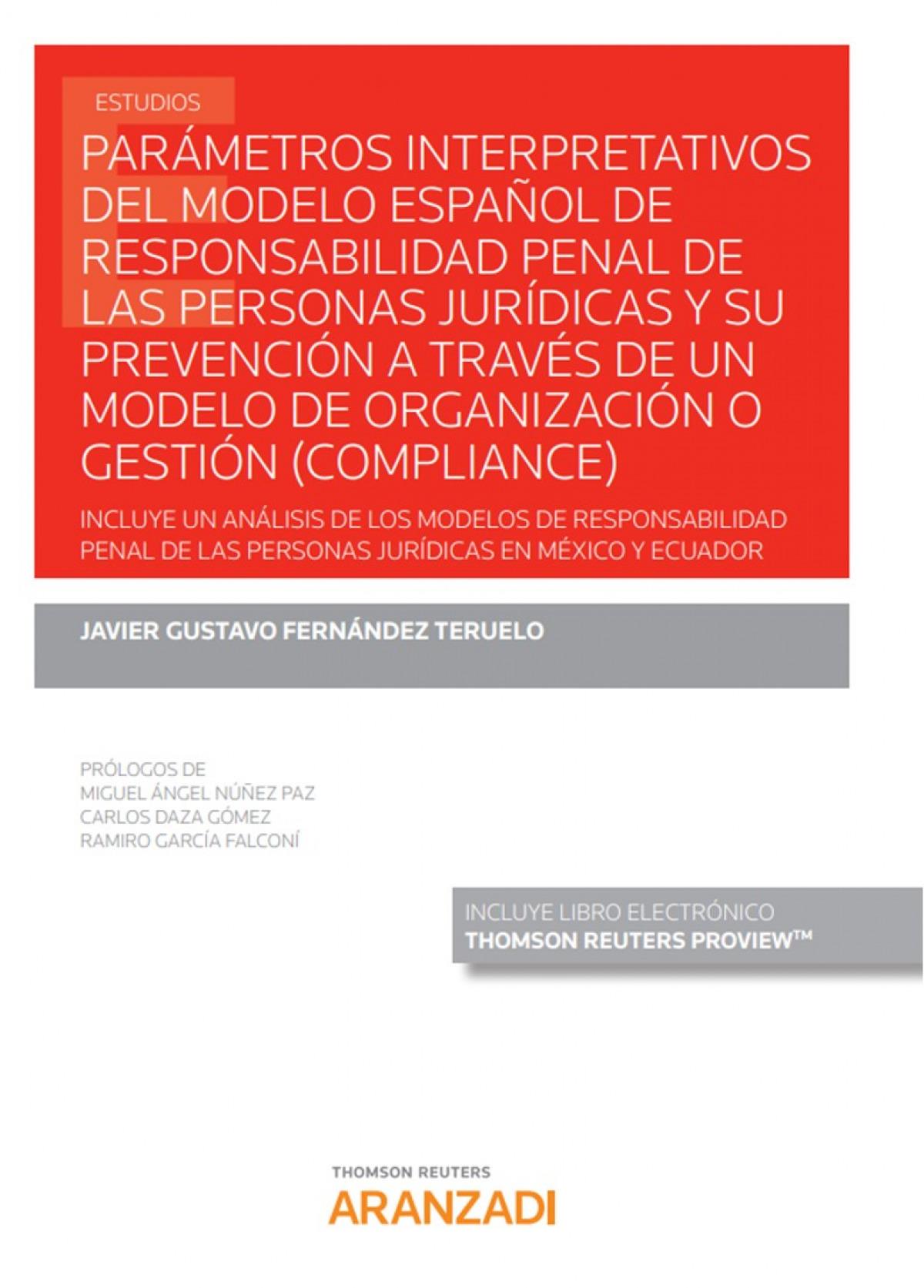 Parámetros interpretativos del modelo español de responsabilidad penal de las pe