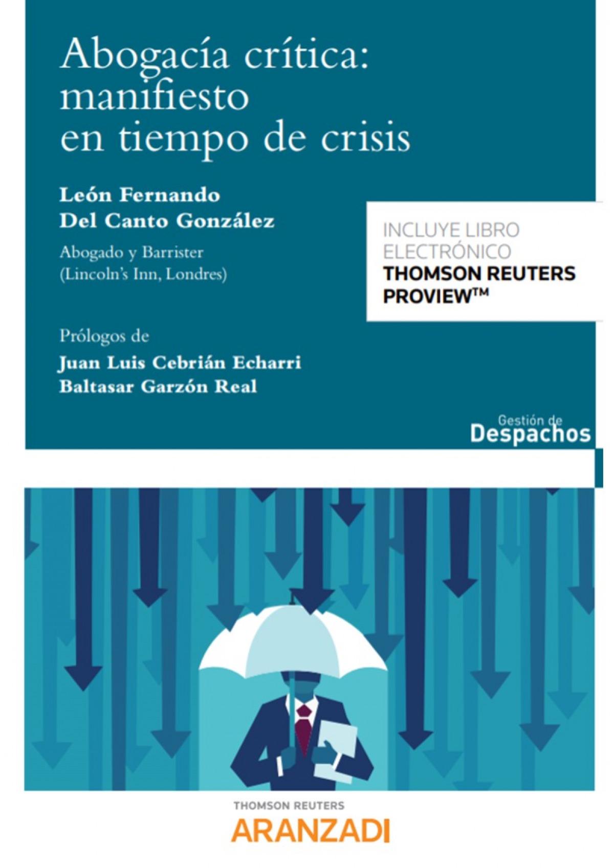 Abogacía Crítica: manifiesto en tiempo de crisis (Papel + e-book)