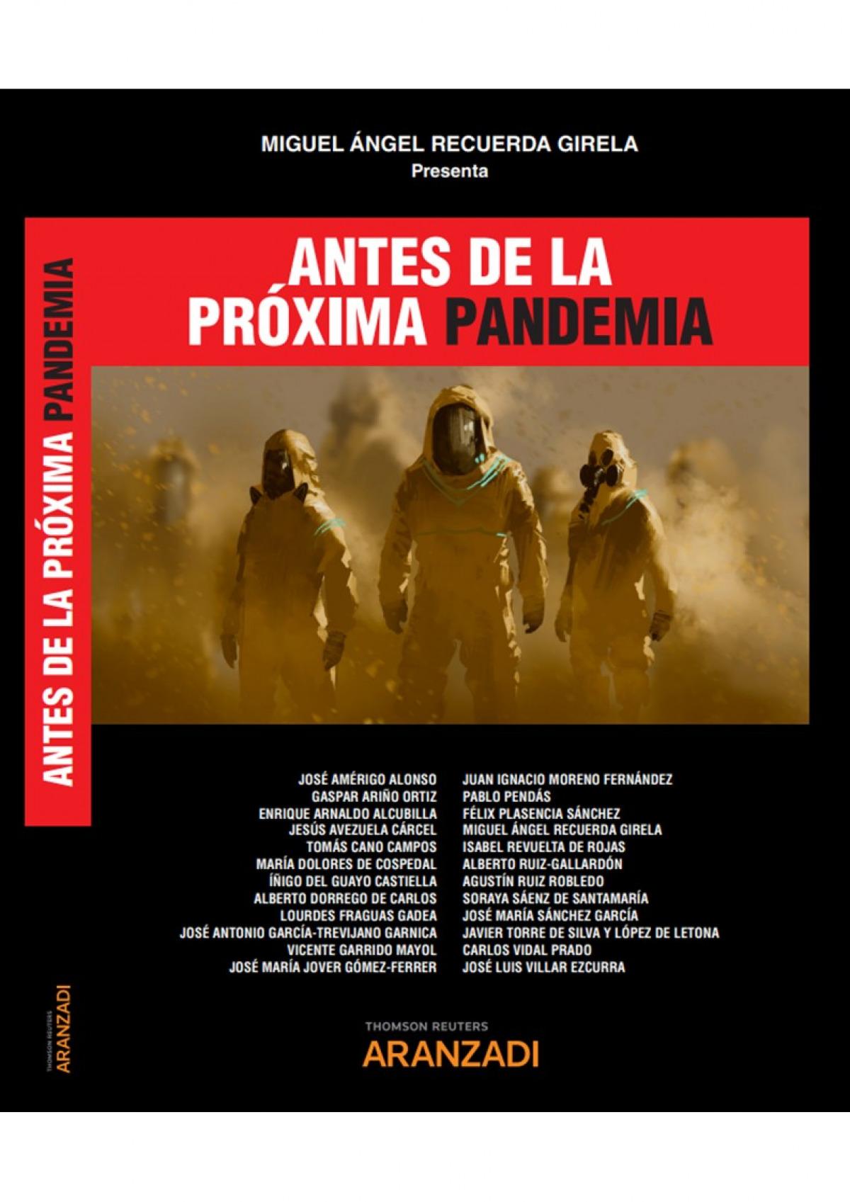 Antes de la próxima pandemia (Papel + e-book)