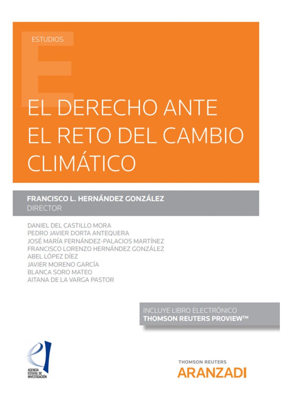 El derecho ante el reto del cambio climático (Papel + e-book)