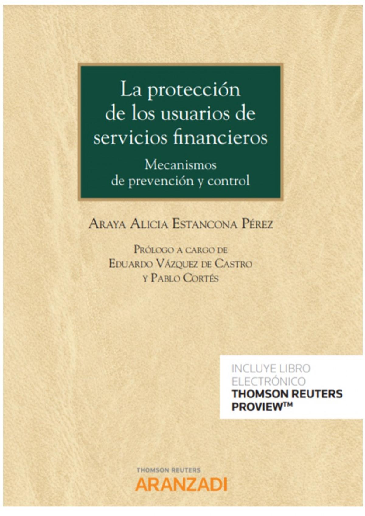 La protección de los usuarios de servicios financieros (Papel + e-book)
