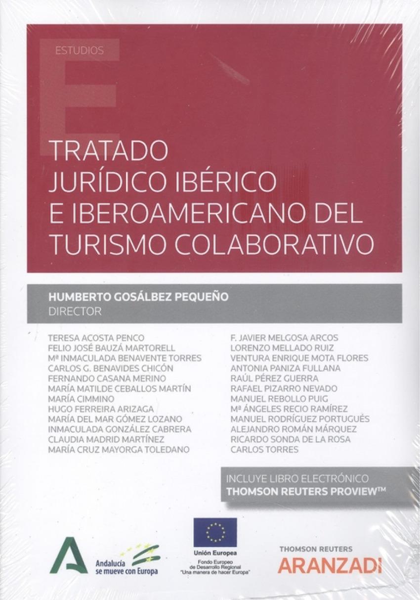 Tratado jurídico ibérico e iberoamericano del turismo colaborativo