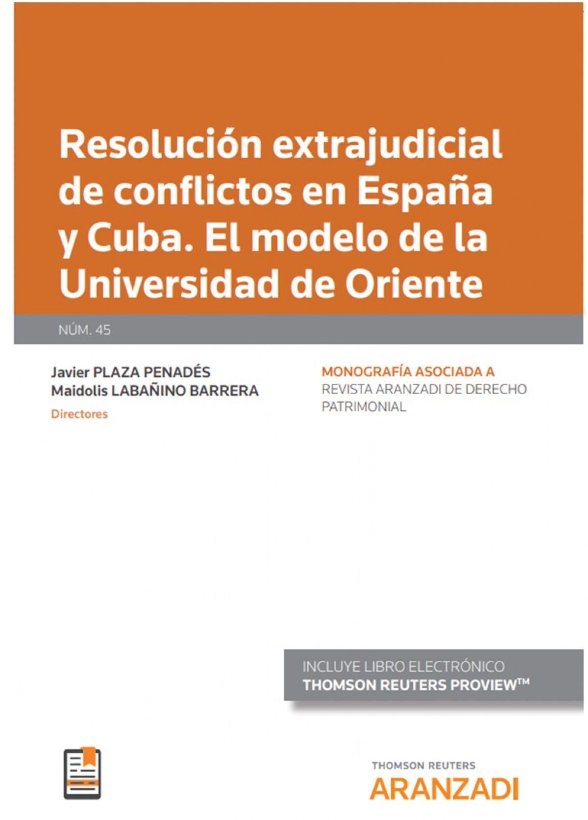 Resolución extrajudicial de conflictos en españa y cuba.
