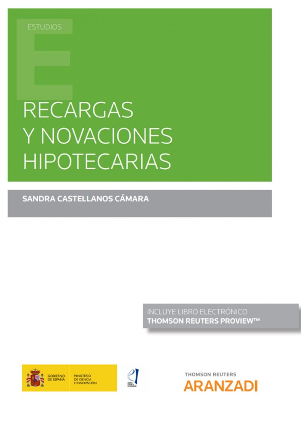 RECARGAS Y NOVACIONES HIPOTECARIAS DUO