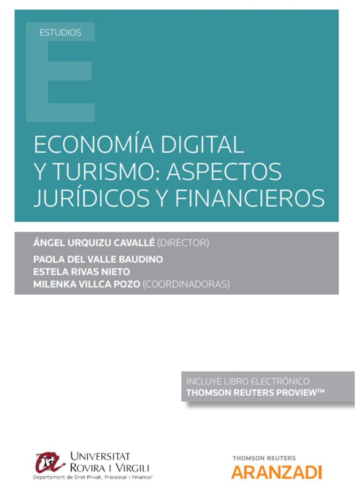 Economía digital y turismo: aspectos jurídicos y financieros (Pap