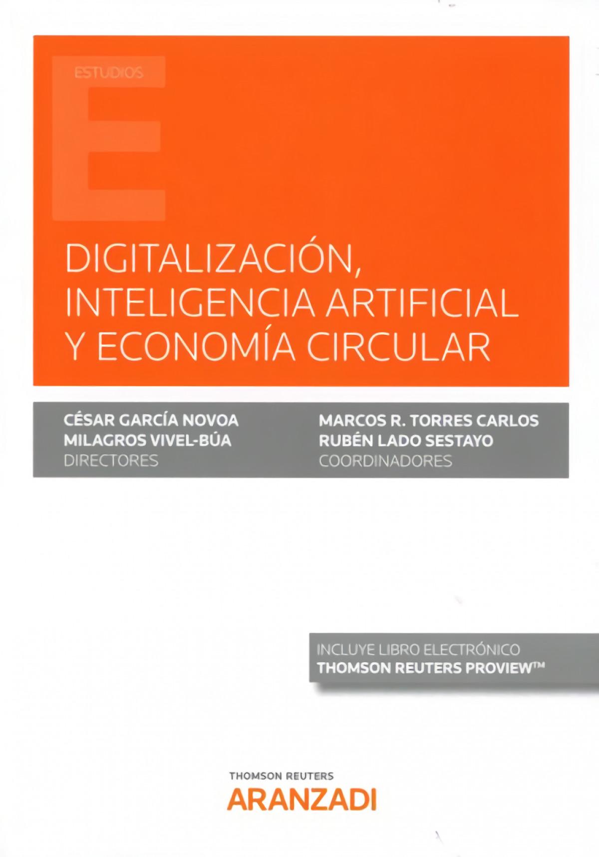 Digitalización, inteligencia artificial y economía circular