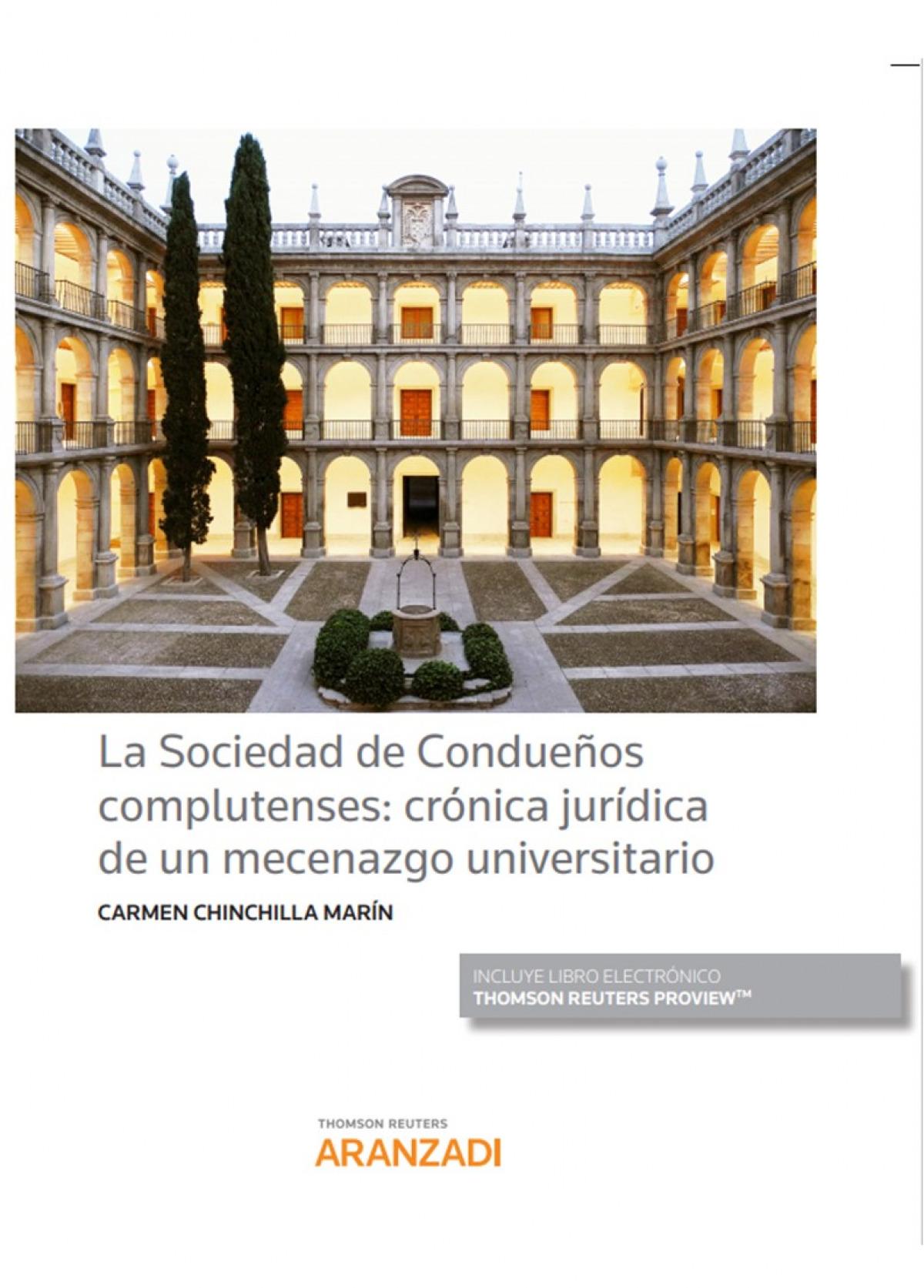 SOCIEDAD DE CONDUEÑOS COMPLUTENSES CRONICA JURIDICA MECENAZ