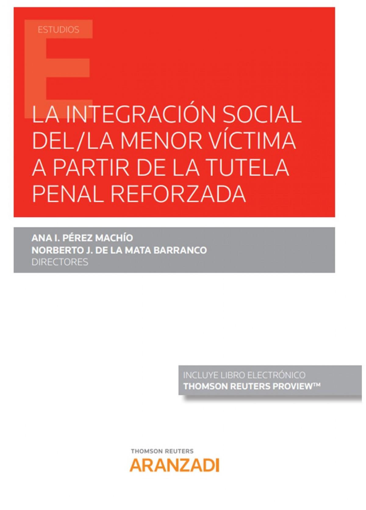 INTEGRACION SOCIAL MENOR VICTIMA A PARTIR TUTELA PENAL REFO