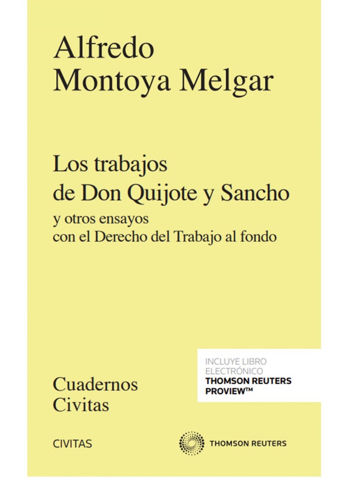 Los trabajos de Don Quijote y Sancho (Papel + e-book)