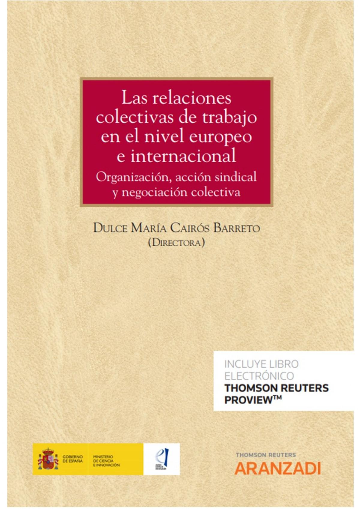 RELACIONES COLECTIVAS TRABAJO NIVEL EUROPEO E INTERNACIONAL