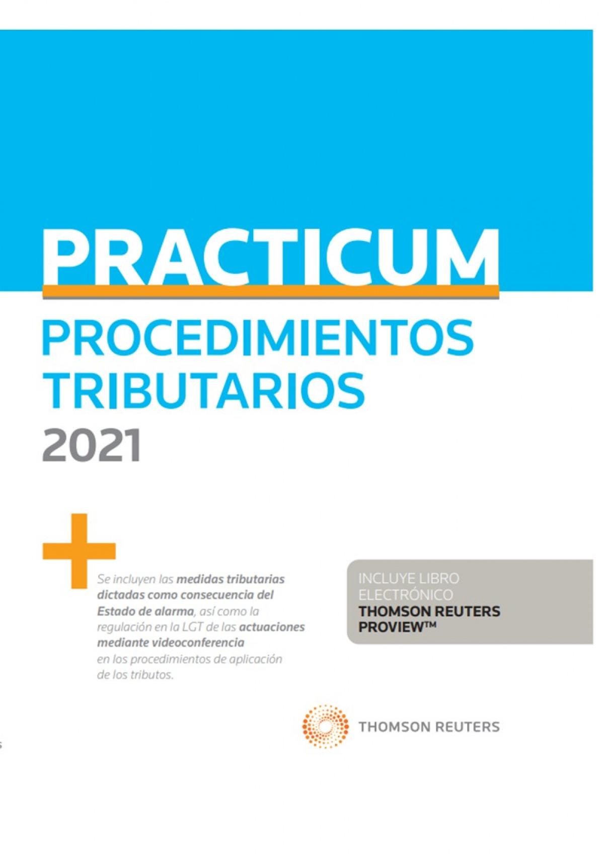 Practicum Procedimientos Tributarios 2021 (Papel + e-book)