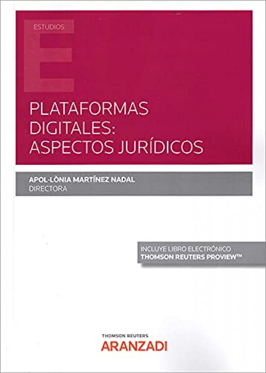 Plataformas Digitales: Aspectos Jurídicos (DÚO) 1ª Ed.