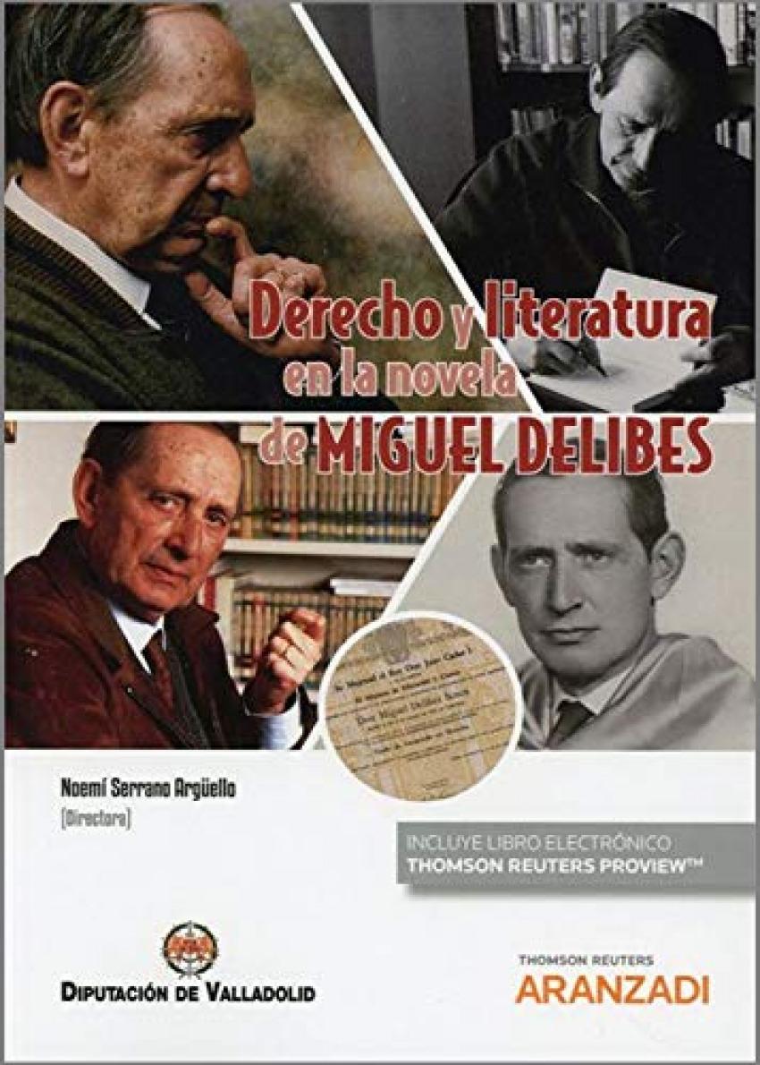 Derecho y literatura en la novela de Miguel Delibes (Papel + e-book)