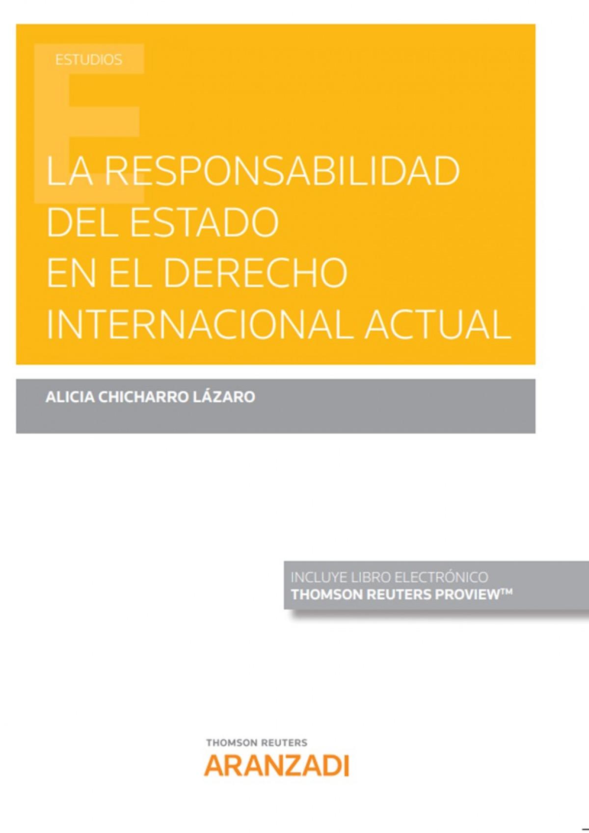La responsabilidad del Estado en el Derecho Internacional actual (Papel + e-book)