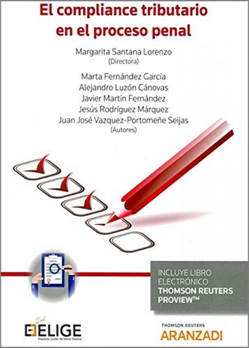 El compliance tributario en el proceso penal (Papel + e-book)