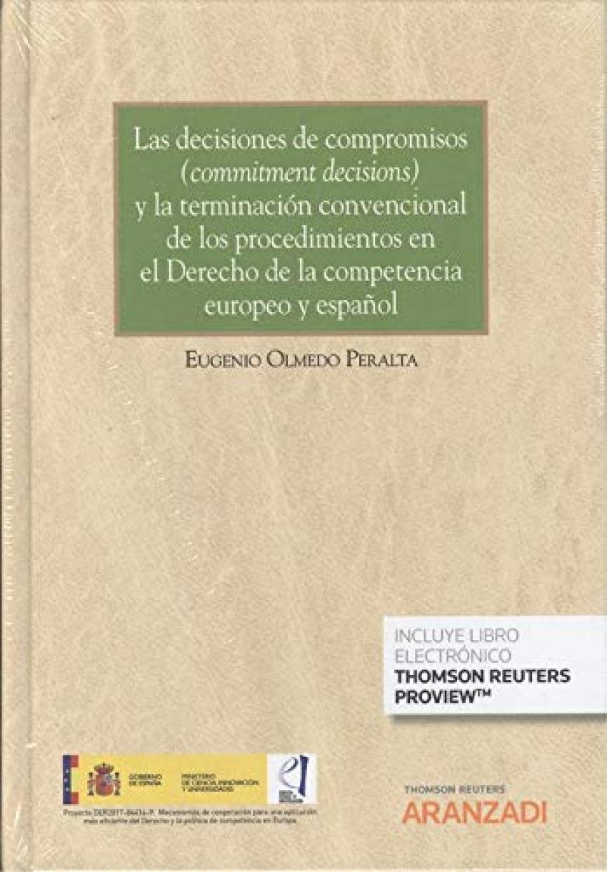 DECISIONES DE COMPROMISOS Y LA TERMINACION CONVENCIONAL PROCEDIMIENTOS