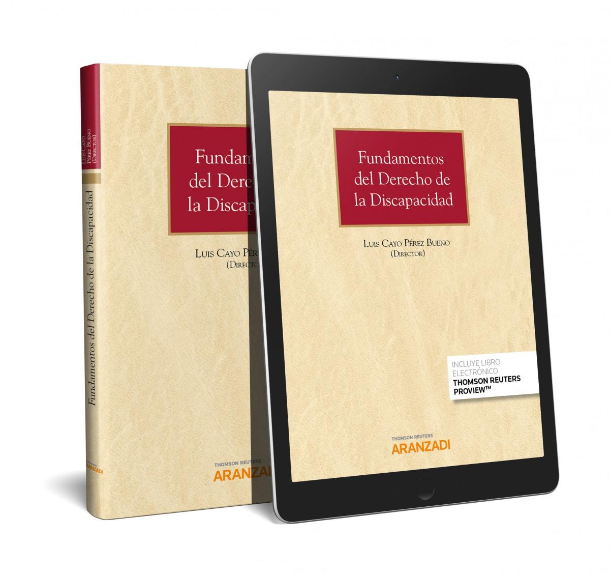 Fundamentos del Derecho de la Discapacidad (Papel + e-book)