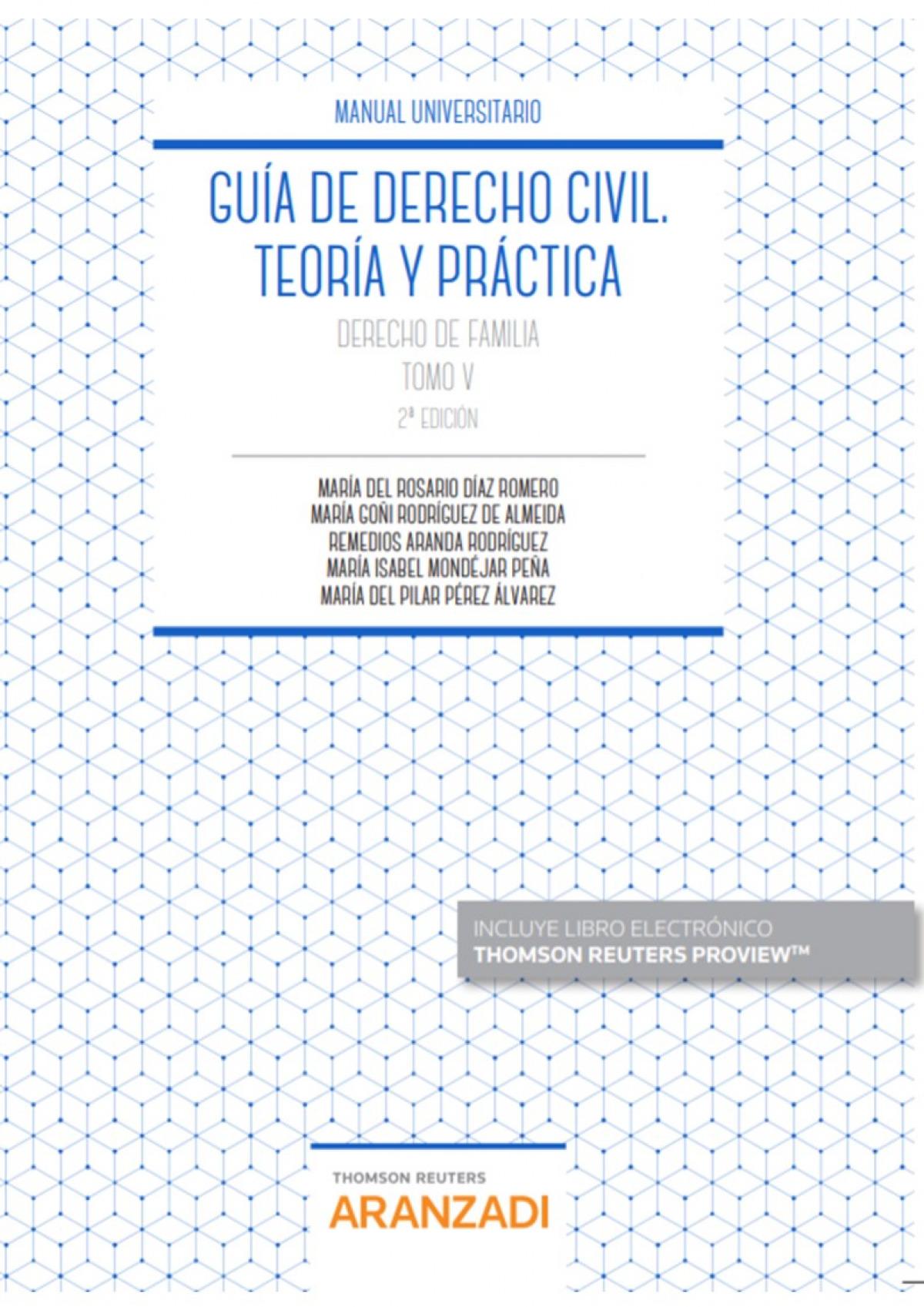 Guía de Derecho Civil. Teoría y práctica (Tomo V) (Papel + e-book)