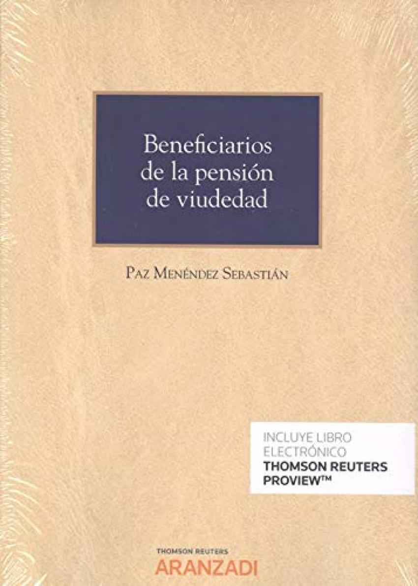 Beneficiarios de la pensión de viudedad (Papel + e-book)
