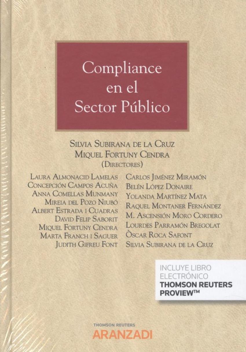 Compliance en el sector público (Papel + e-book)