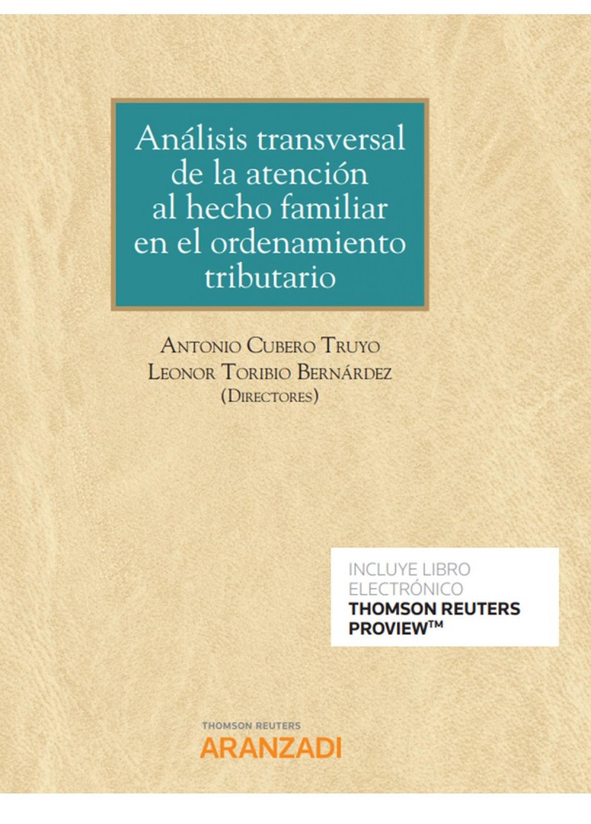 ANALISIS TRANSVERSAL ATENCION HECHO FAMILIAR ORDENAMIENTO