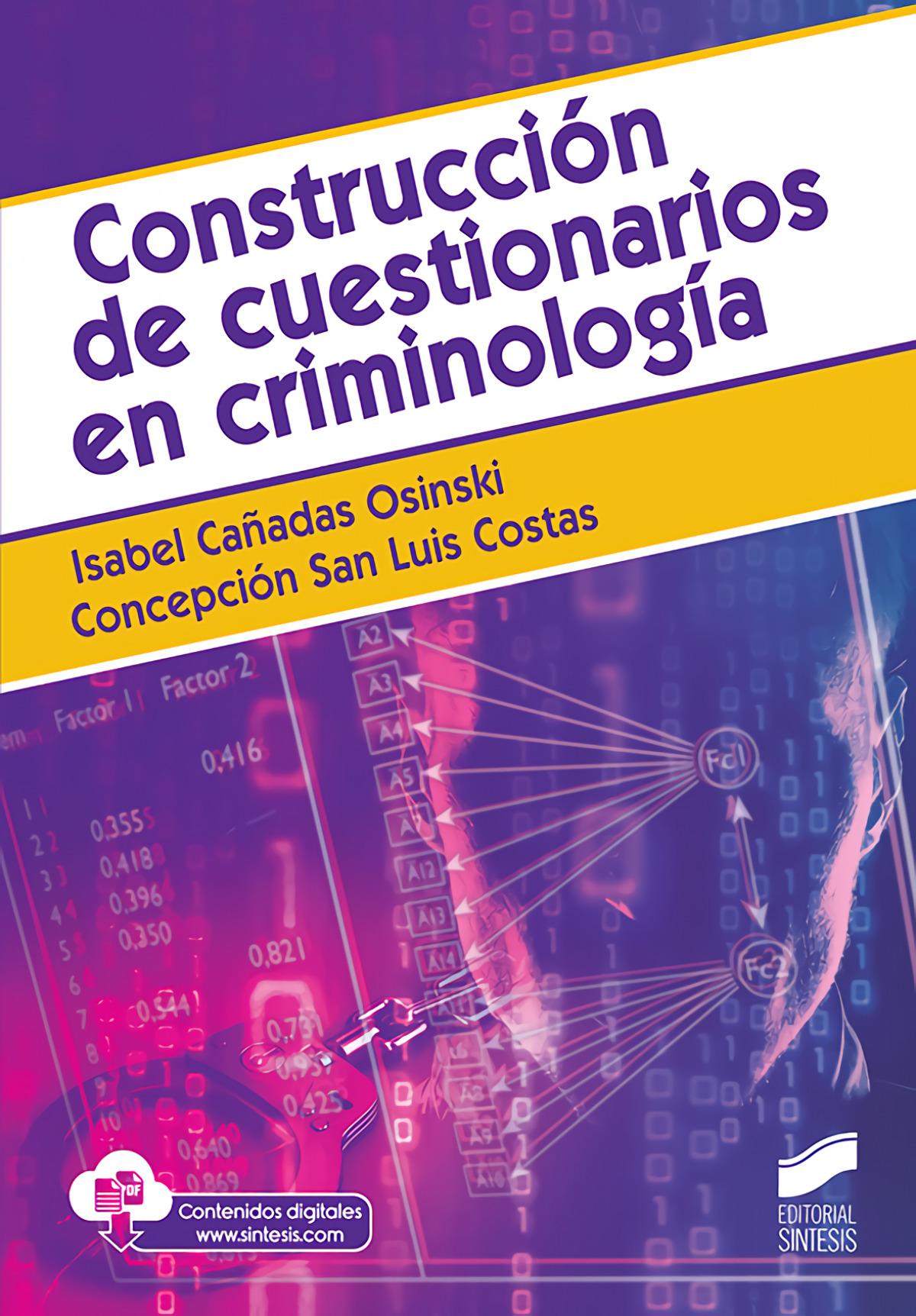 Construcción de cuestionarios en criminolog¡a
