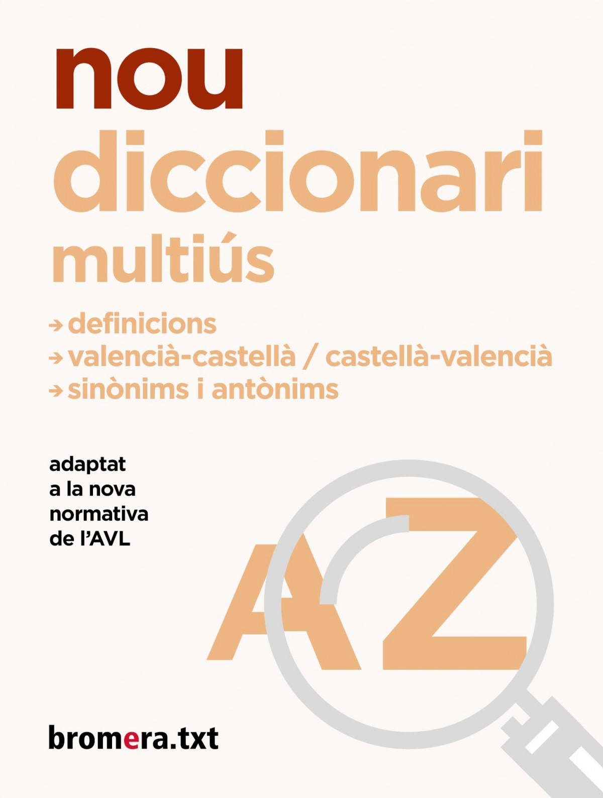 Nou diccionari Multiús