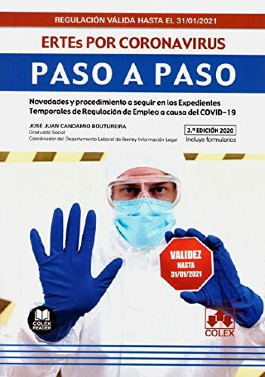 ERTEs por coronavirus. Paso a Paso. (3.ª EDICIÓN)