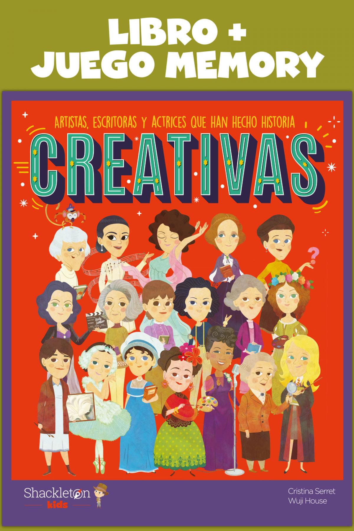 Creativas: Libro + Juego Memory