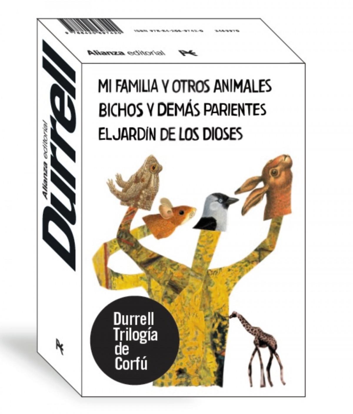 Trilogía de Corfú - Estuche