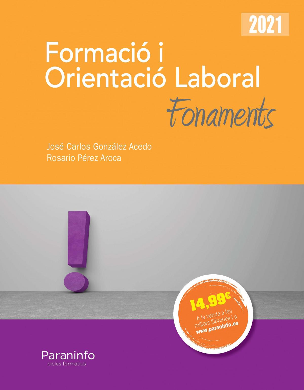 Formació i orientació laboral. Fonaments Ed.2021