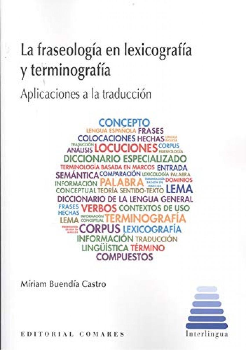 FRASEOLOGIA EN LEXICOGRAFIA Y TERMINOGRAFIA.