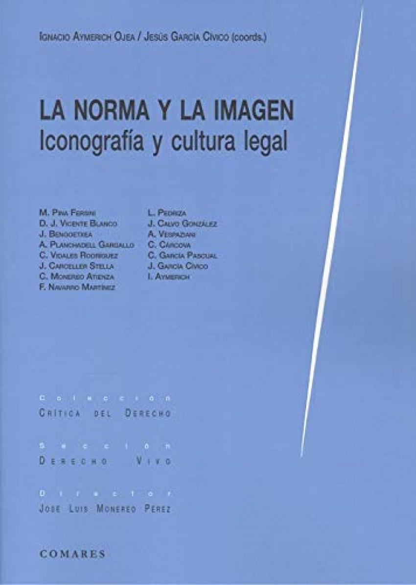 La norma y la imagen. Iconografía y cultura legal