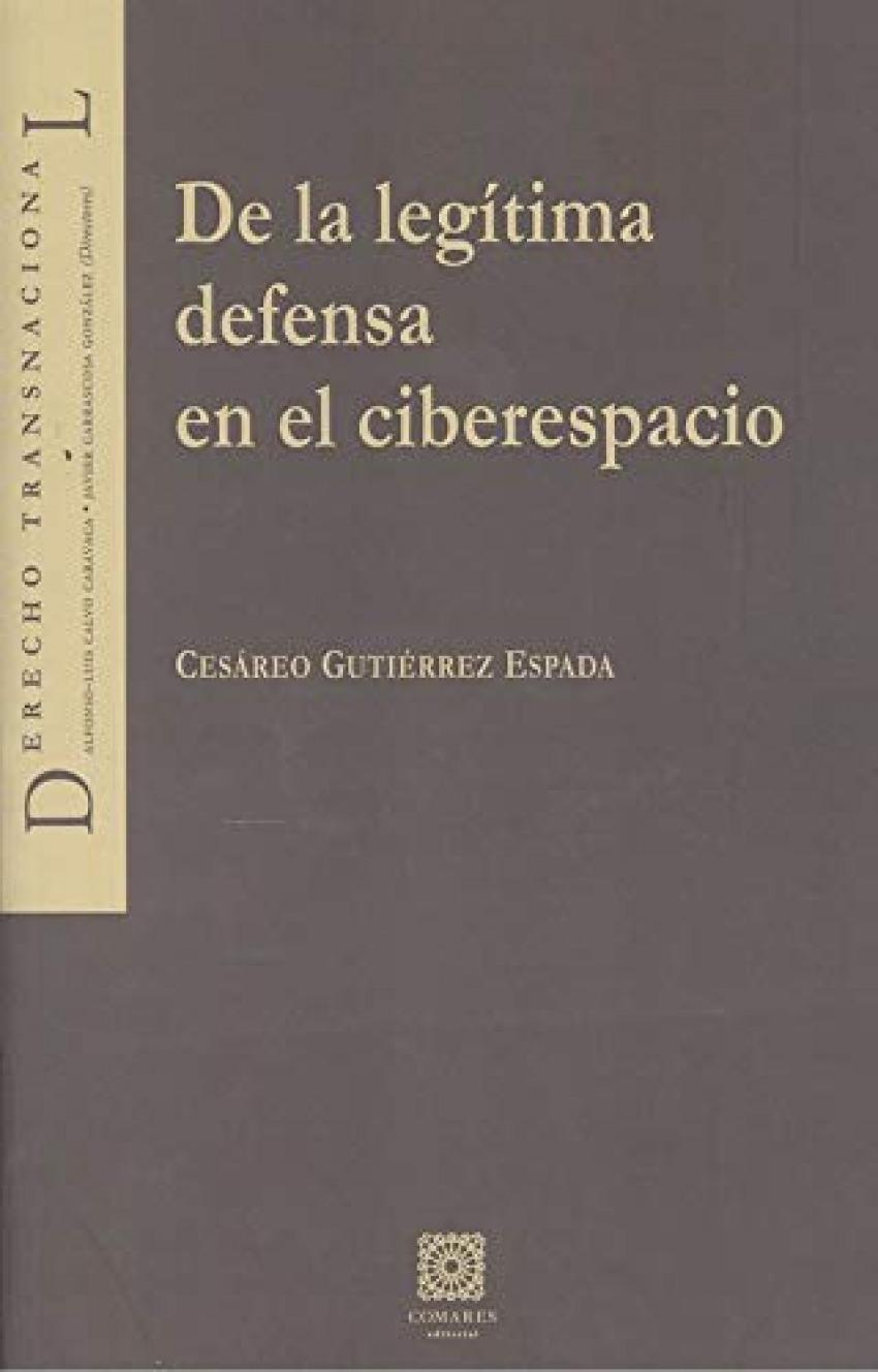 DE LA LEGITIMA DEFENSA EN EL CIBERESPACIO