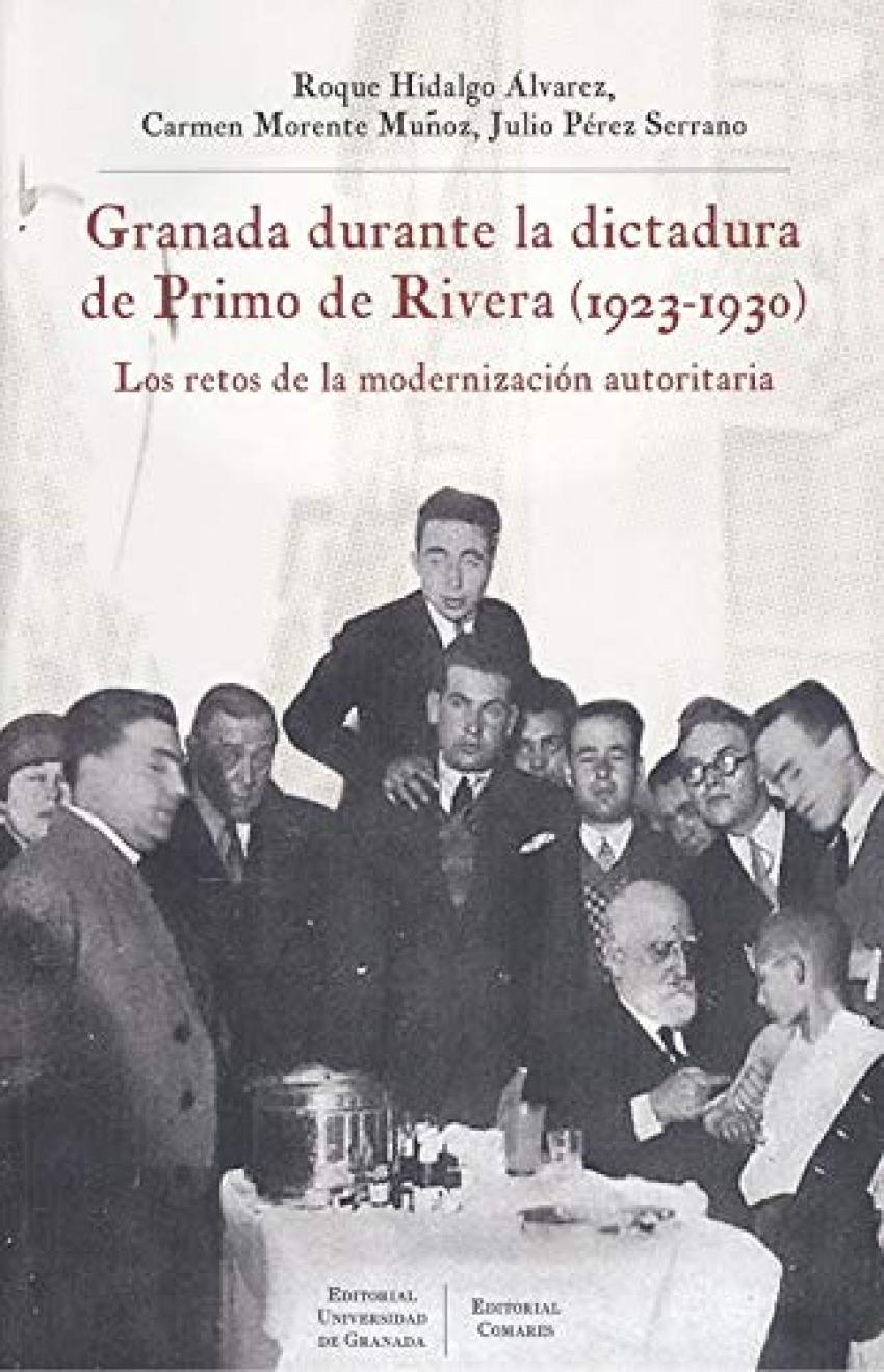 GRANADA DURANTE LA DICTADURA DE PRIMO DE RIBERA 1923 1930