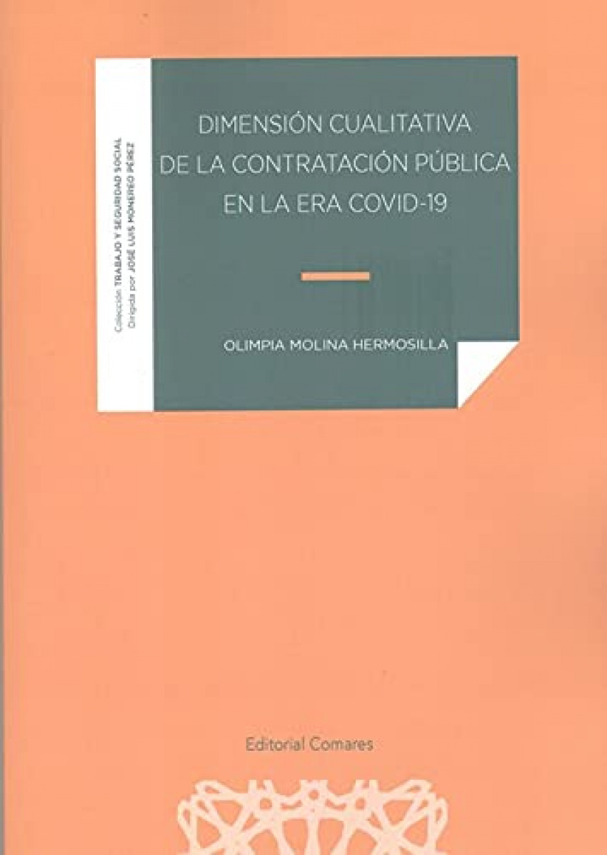 DIMENSION CUALITATIVA DE LA CONTRATACION PUBLICA EN LA ERA COVID-19
