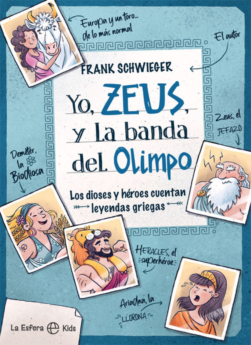Yo, Zeus, y la banda del Olimpo